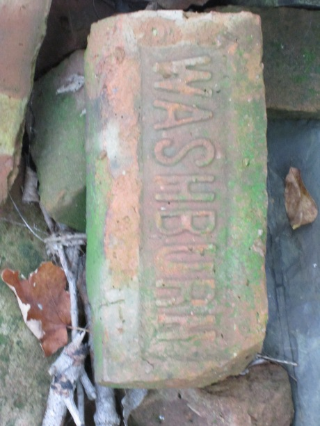 Brick from the Washburn brick yard on the Hudson River NY