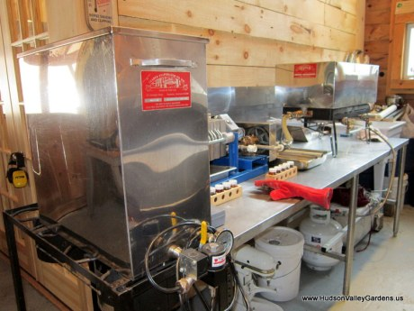 maple syrup production equipment. www.HudsonValleyGardens.us