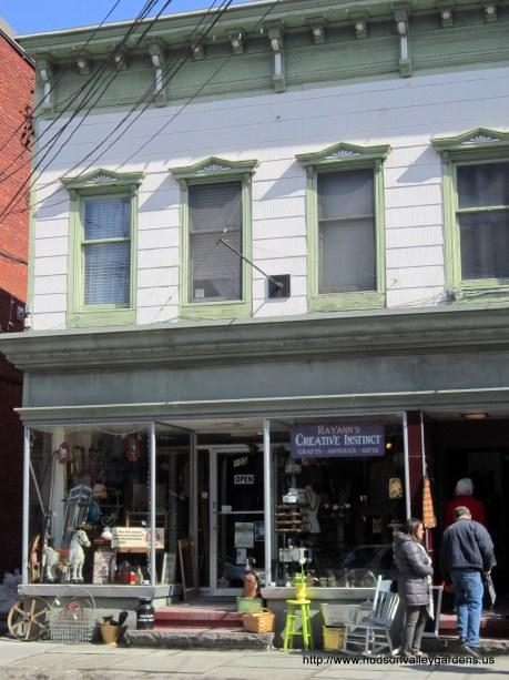 Rayann's Creative Instinct antique shop, vintage