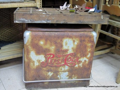 Vintage Pepsi drinks cooler