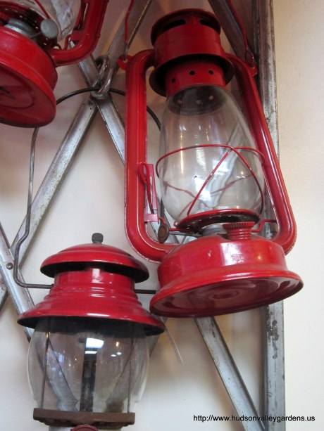 Red oil lanterns