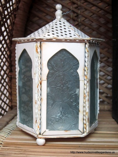 Pretty painted lantern