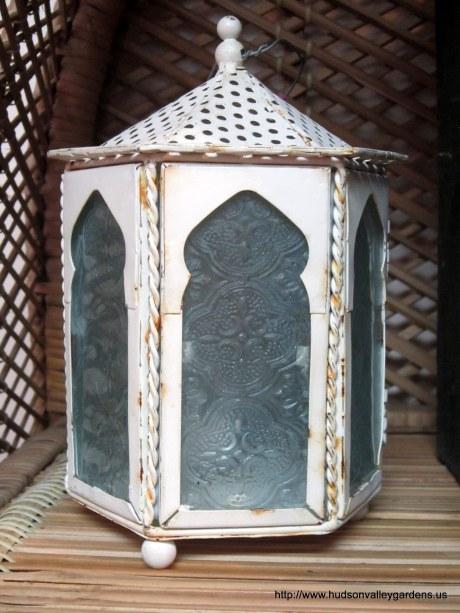 Pretty painted lantern