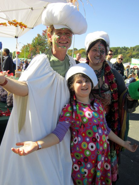 Andy and the Garlic Family at the Hudson Valley Garlic Festival