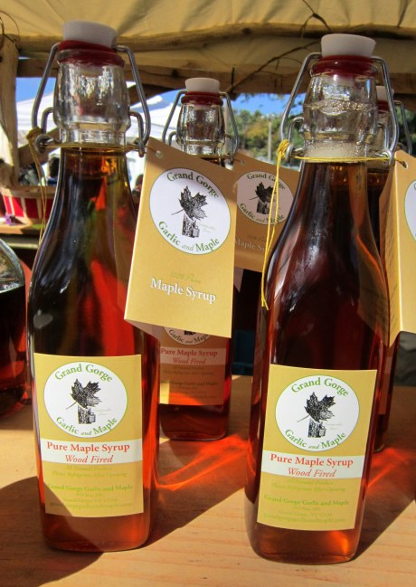 Maple syrup by Grand Gorge Garlic and Maple