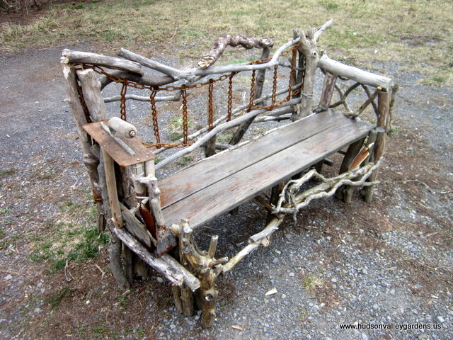 Garden Furniture Handmade rustic garden furniture – hand made in the hudson valley, ny